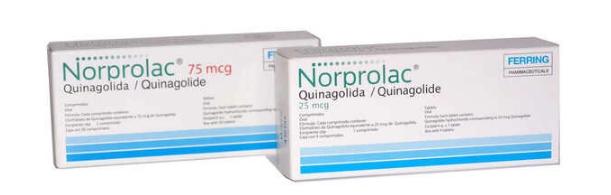 Thuốc tiêu sữa Quinagolide
