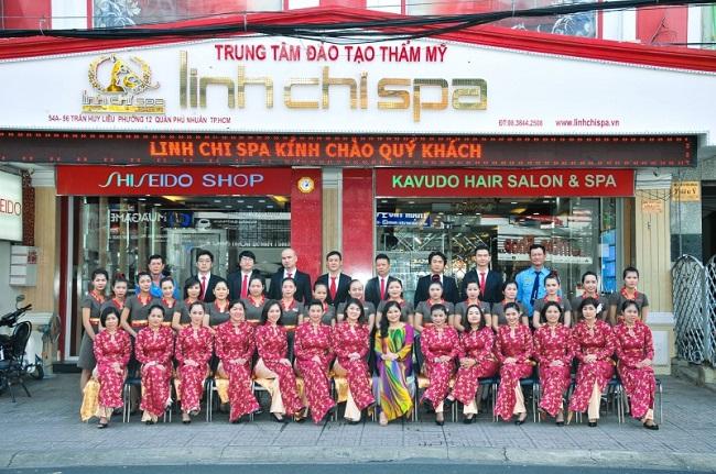 Trung tâm dịch vụ spa và đào tạo thẩm mỹ Linh Chi