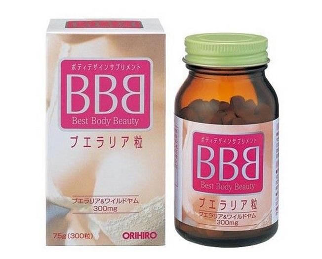Viên uống nở ngực BBB Nhật Bản