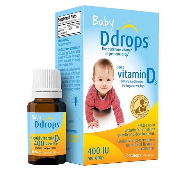 Vitamin D3 Baby Ddrops 400 IU