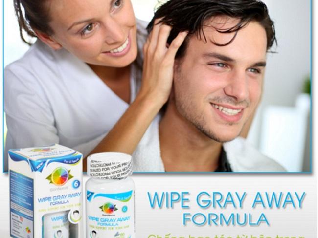 Viên chống tóc bạc sớm – Wipe Gray Away Formula