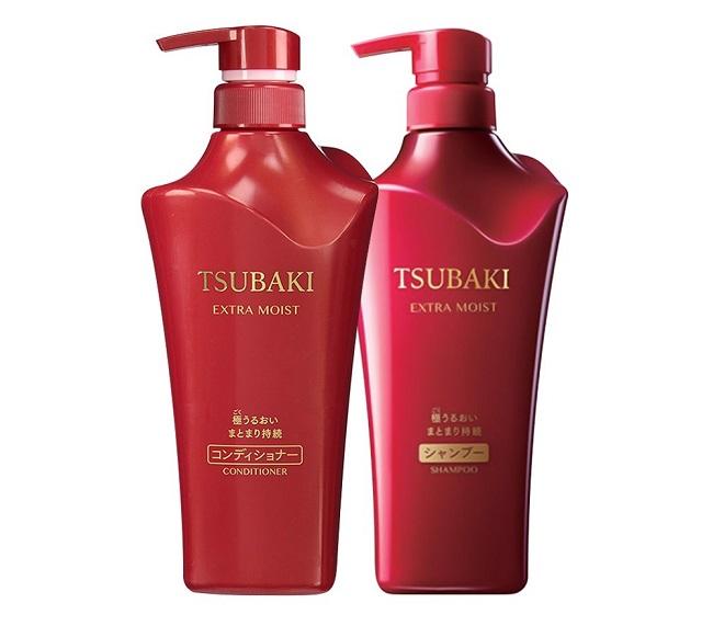 Dầu gội Tsubaki siêu cấp ẩm extra moist shampoo - Màu đỏ