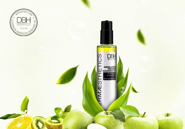 Dầu tẩy trang táo xanh DBH Green Apple Premium Cleansing Oil
