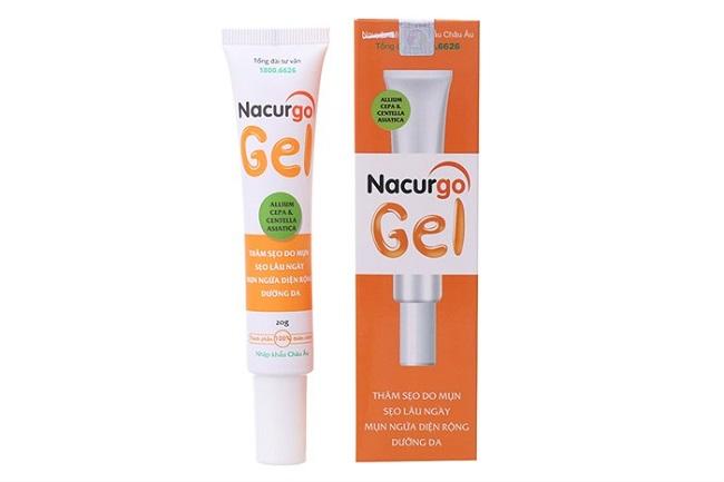 Gel khắc phục sẹo Nacurgo