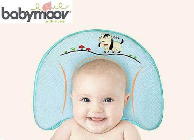 Gối chống bẹp đầu, méo đầu, móp đầu cho em bé và trẻ sơ sinh Babyupp