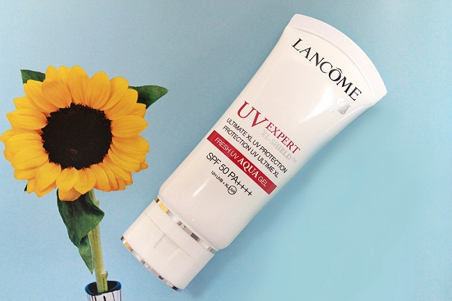 Kem chống nắng dưỡng ẩm Lancome UV Expert XL-Shield Fresh UV AQUA Gel SPF50 PA++++