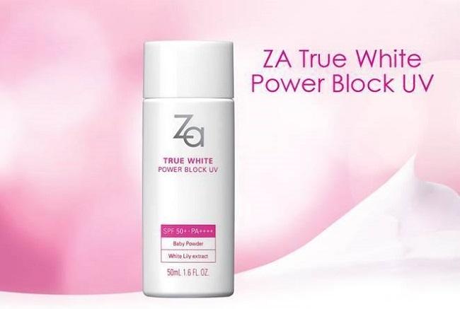 Kem chống nắng Nhật Bản ZA True White Spf 50+++