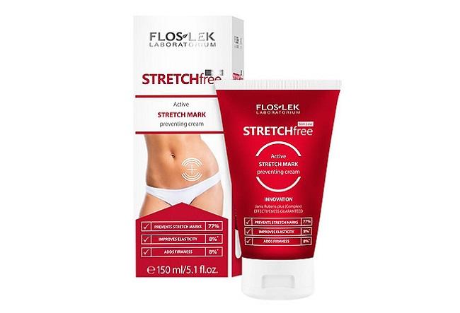 Kem ngăn ngừa rạn da Floslek Stretch Free Active Stretch Mark Preventing Cream