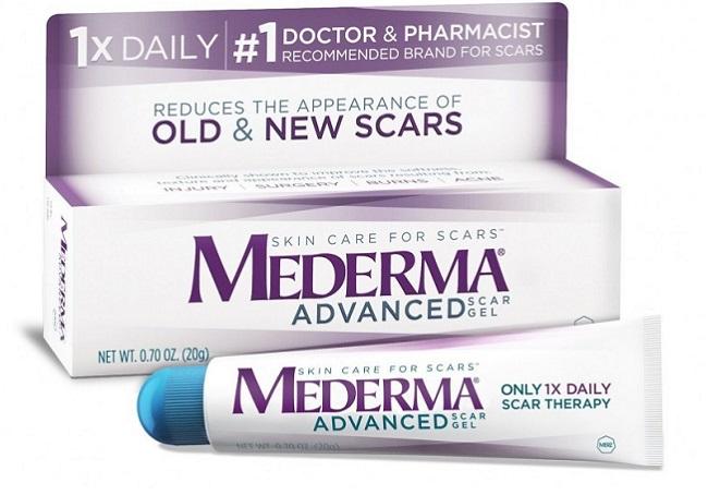 Kem trị sẹo lồi Mederma Advanced Scar Gel