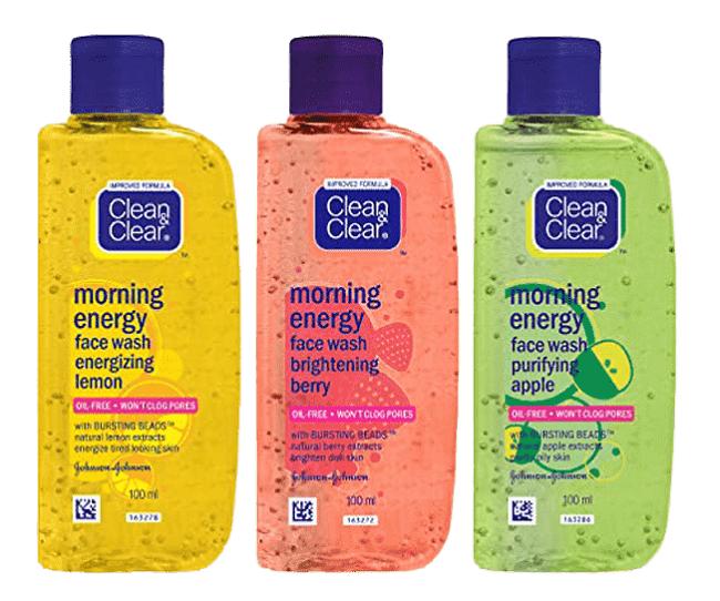 Sữa rửa mặt trị mụn Clean & Clear Morning Energy Gel Cleanser Brightening Lemon