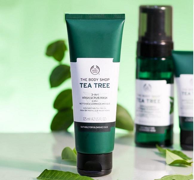 The Body Shop Tea Tree 3-in-1 Scrub