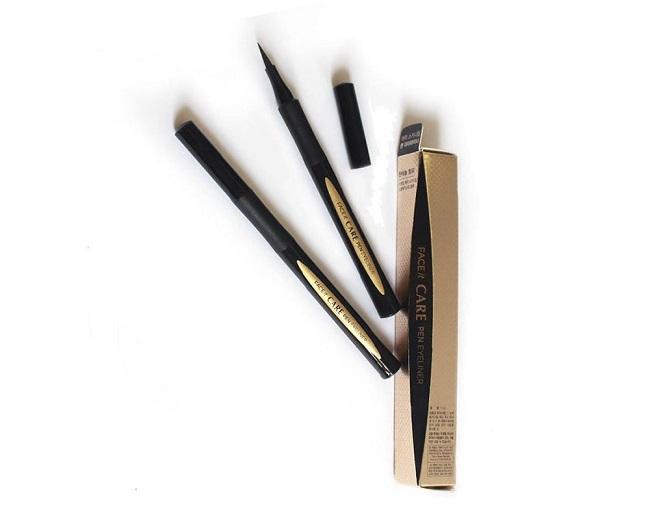 Kẻ Mắt Nước The Face Shop Face It Care Pen Eyeliner