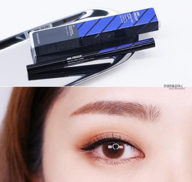 Kẻ mắt nước The Face Shop Ink Proof Brush Pen Liner