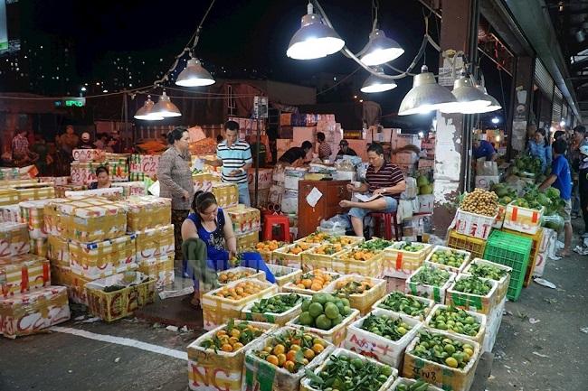 Chợ Đầu Mối Nông Sản Thủ Đức Sài Gòn