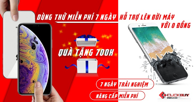 ClickBuy – Chuỗi cửa hàng bán iPhone uy tín ở Sài Gòn