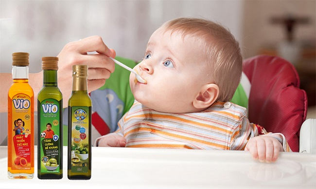 Dầu ăn cho bé