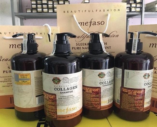Cặp Dầu Gội Xả Phục Hồi Collagen Mefaso – Dầu Gội Xả Tốt Nhất