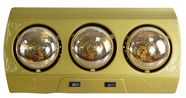 Đèn sưởi phòng tắm Braun Kohn KN03G 3 bóng