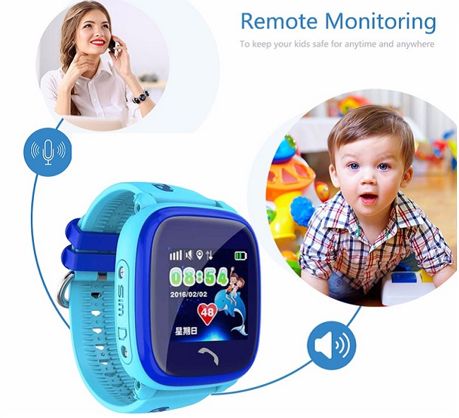 Đồng hồ thông minh định vị trẻ em ANNCOE Y92