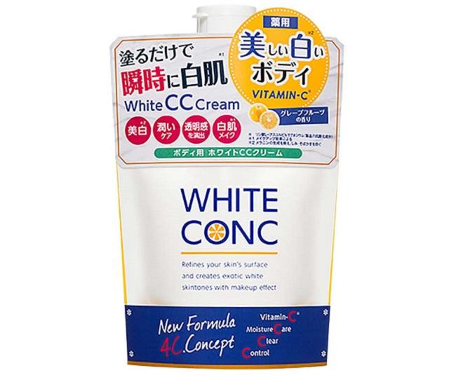 Dưỡng trắng toàn thân Body White Conc White CC Cream