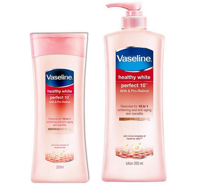 Kem dưỡng trắng da Vaseline Healthy White Perfect 10 AHA & Pro-Retinol