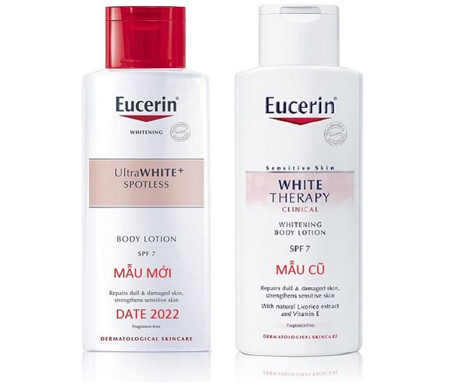 Kem dưỡng trắng da body Eucerin White Therapy Body Lotion SPF 7