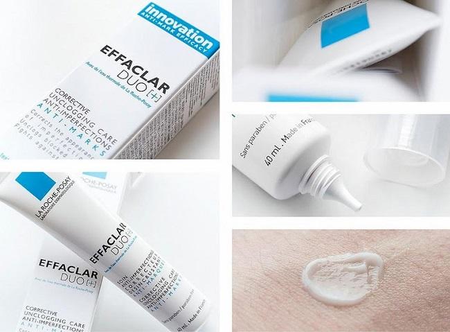 Kem trị mụn (kem chấm mụn) Effaclar Duo+ La Roche Posay