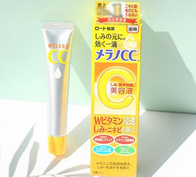 Kem trị thâm mụn lâu năm Vitamin C Melano CC Beauty Essence