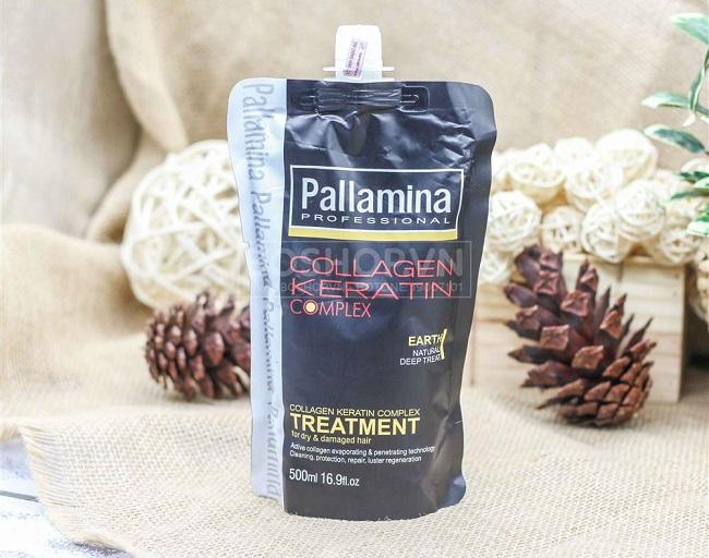Kem ủ tóc Pallamina Collagen Keratin Complex Treatment 500ml.