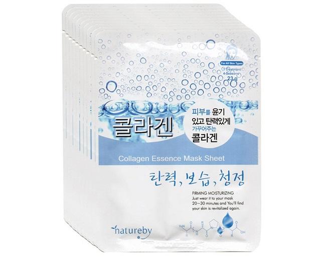 Mặt nạ dưỡng trắng da từ Collagen Natureby Essence Mask Sheet