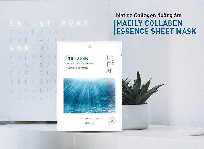 Mặt nạ Dưỡng Ẩm Maeily Collagen Essence Sheet Mask