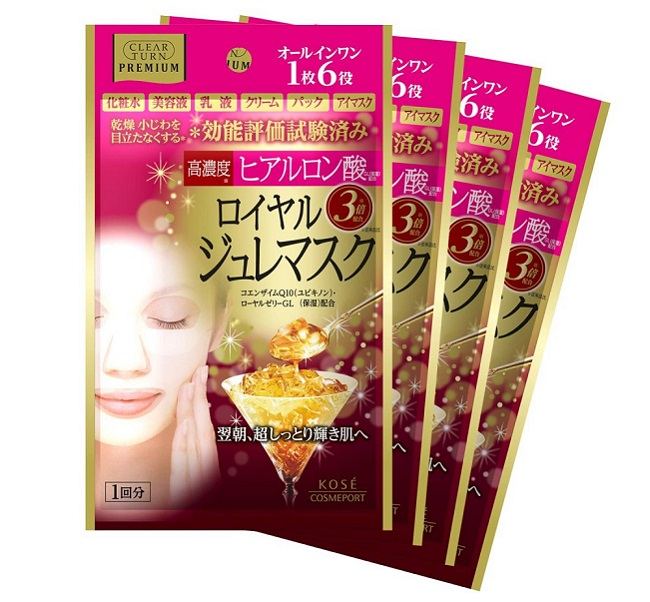 Mặt nạ Sữa Ong Chúa Kosé Cosmeport Premium Royal Jelly Mask