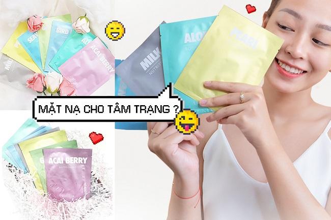Mặt Nạ Lixibox Milk Nutrition 23g