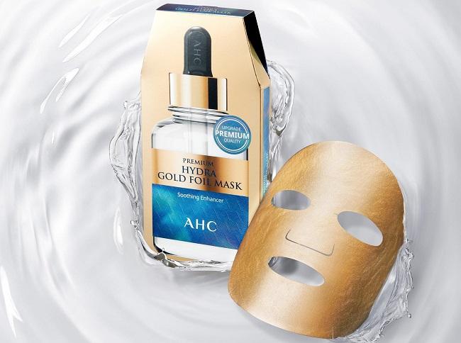 Mặt nạ Vàng Chống Lão Hóa AHC Premium Hydra Gold Foil Mask