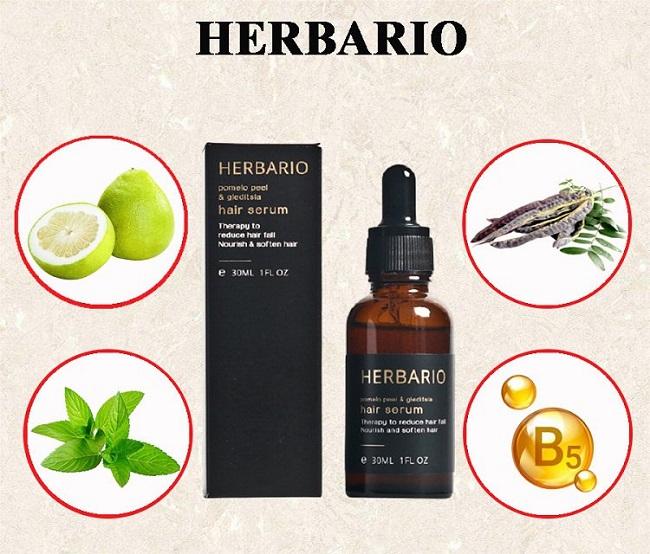 Serum vỏ bưởi & bồ kết HERBARIO