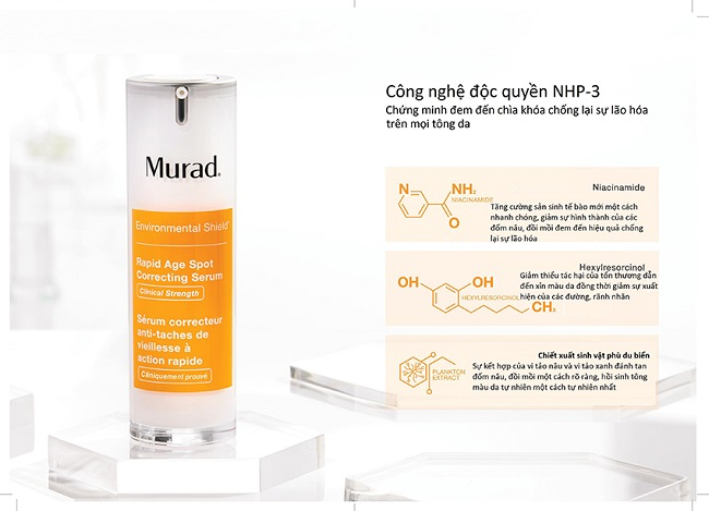 Serum Murad Rapid Age Spot Correcting trị nám và tàn nhang