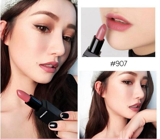 Son 3CE Lip Color Matte 907 Màu Hồng Đất