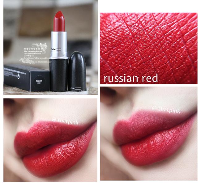 Son Mac Russian Red Màu Đỏ Đất Sang Trọng