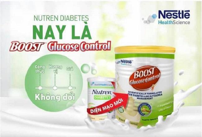 SỮA BỘT BOOST GLUCOSE CONTROL (TÊN CŨ NESTLE NUTREN DIABETES 400G)