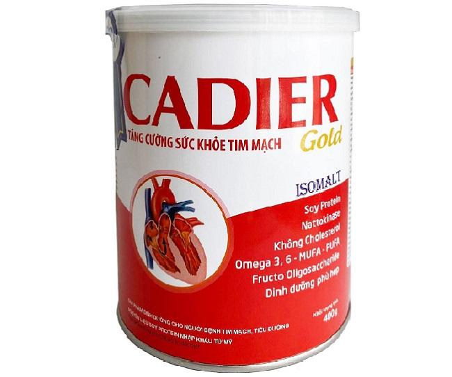 Sữa bột Cadier Gold