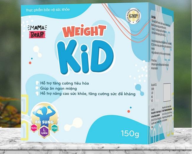 Sữa bột nguyên kem Weight Kid hương vani