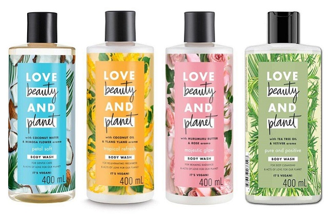 Sữa dưỡng thể Love Beauty & Planet Rose Delicious Glow Body Lotion