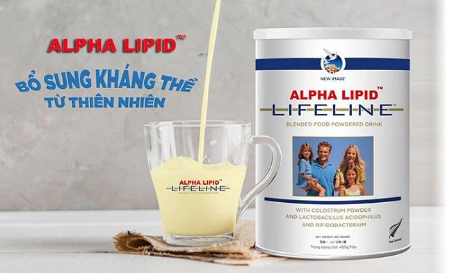 Sữa non Alpha Lipid thực phẩm hoàn hảo cho trẻ phát triển bé thông minh