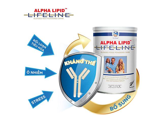 Sữa non cho trẻ sơ sinh Alpha Lipid