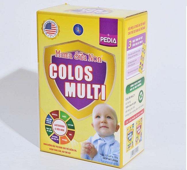 Sữa non mama dành cho trẻ lười ăn và muốn lên cân đều