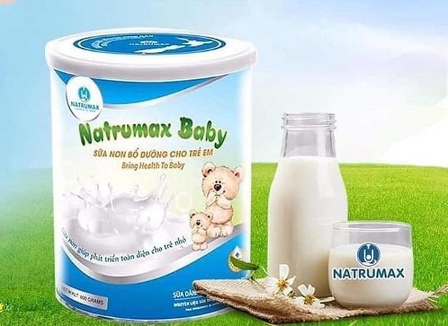 Sữa non Natrumax giúp trẻ phát triển toàn diện