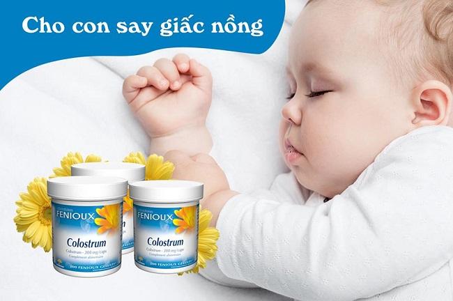Sữa non Fenioux Colostrum