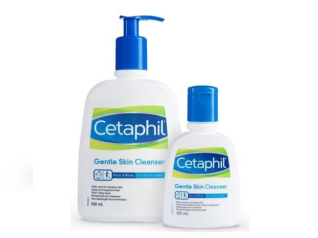 Sữa rửa mặt cho da dầu mụn Cetaphil Gentle Skin