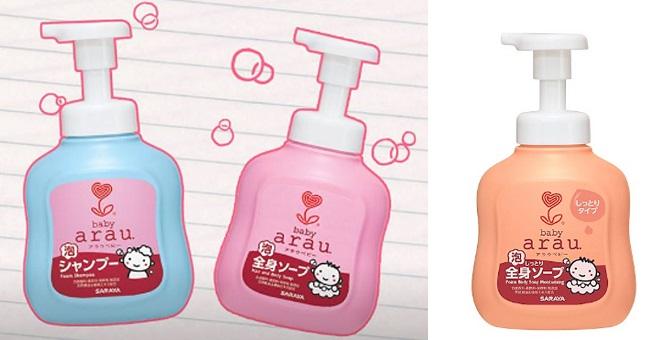 Arau Baby – Sữa tắm cho trẻ sơ sinh và trẻ nhỏ