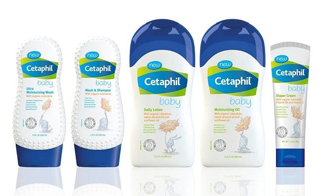 Sữa tắm gội Cetaphil Baby cho trẻ sơ sinh